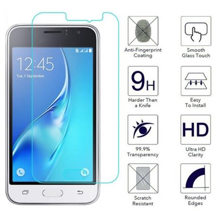 9H 2.5D Premium Tempered Glass Screen Protector Film for Samsung Galaxy J1 2016