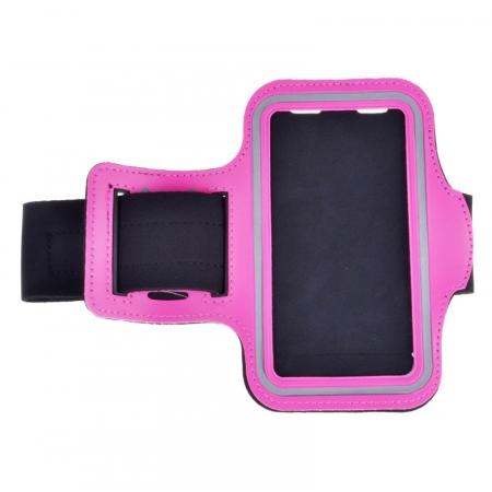 Neoprene Sport Running Armband Case for Samsung Galaxy S7 G930 - Hot Pink