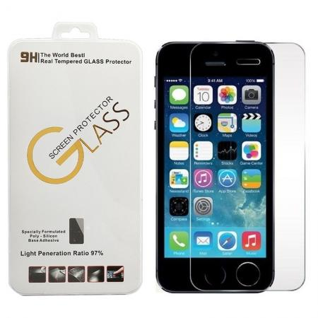 New Premium Real Tempered Glass Film Screen Protector For iPhone 5/5S/5C/SE