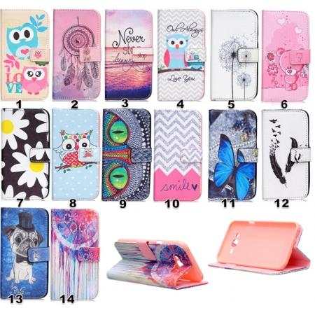 Fashion Leather Wallet Filp stand Case for Samsung Galaxy J7 / J700 (2015)