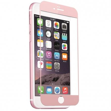 3D Full Coverage Tempered Glass Screen Protector For iPhone 6 / 6S 4.7inch - Rose Gold
