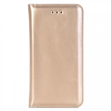 Removable Flip Leather Magnetic Wallet Card Detachable Case Cover For iPhone 7 Plus 5.5 inch - Gold