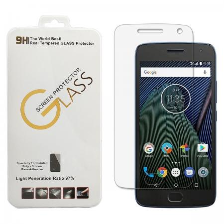 Premium Real Tempered Glass Screen Protector Guard For Motorola Moto G5 Plus