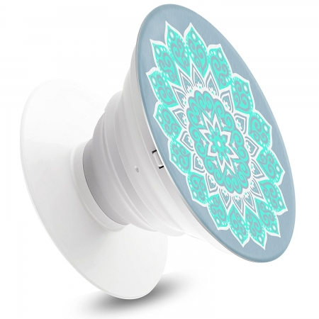Pop Expanding Stand and Grip For Smartphone Tablets - Mandala Tiffany