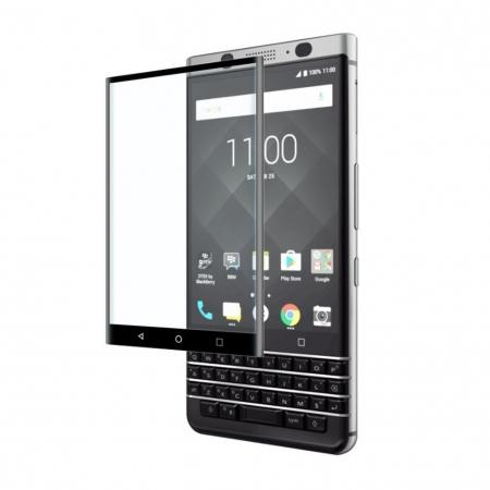 3D Edge Full Coverage 9H Hardness Tempered Glass Screen Protector for BlackBerry Keyone