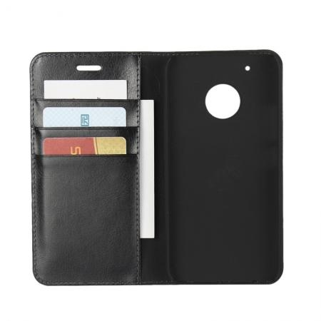 Motorola Moto G5 Plus Crazy Horse Genuine Leather Wallet