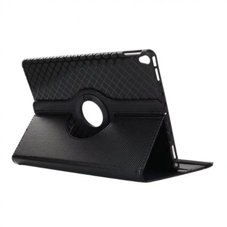 360 Degree Rotating PU Leather Case With Stand For iPad Pro 10.5 inch - Black