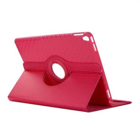 360 Degree Rotating PU Leather Case With Stand For iPad Pro 10.5 inch - Rose