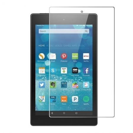 9H Hardness Clear HD Tempered Glass Screen Protector for Amazon Kindle Fire HD 8 (2017)