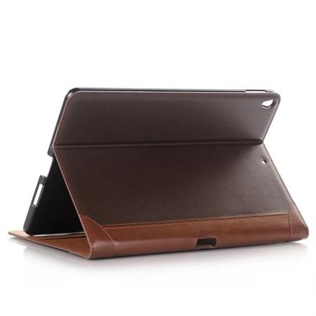 Business Book Style Leather Flip Stand Case for iPad Pro 10.5-inch - Coffee