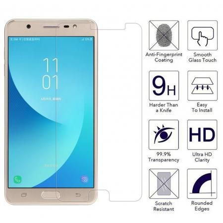 Premium HD Tempered Glass Film LCD Screen Protector for Samsung Galaxy J7 Max 2017