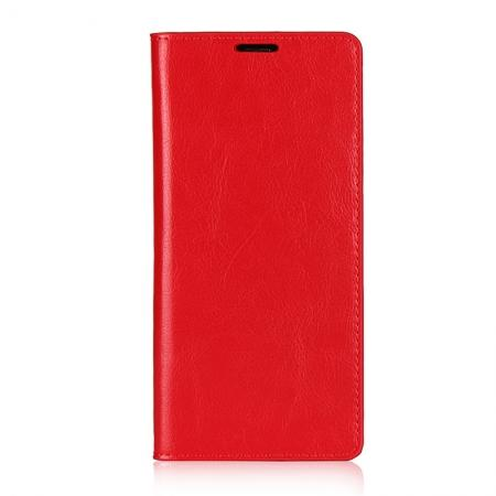 For Samsung Galaxy Note 8 Crazy Horse Real Genuine Leather
