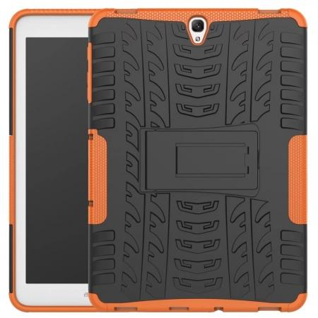 Hybrid Protection Cover Built-In Kickstand Case For Samsung Galaxy Tab S3 9.7 2017 T820 - Orange