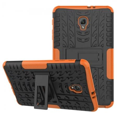 Hybrid Rugged Hard Case Cover with Kickstand for Samsung Galaxy Tab A 8.0 2017 T380/T385 - Orange