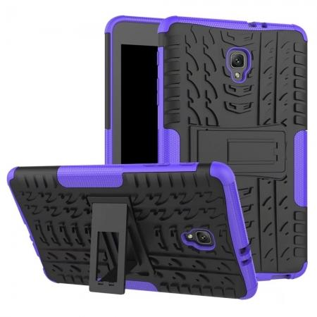Hybrid Rugged Hard Case Cover with Kickstand for Samsung Galaxy Tab A 8.0 2017 T380/T385 - Purple