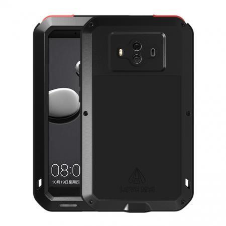 Powerful ShockProof Dustproof LifeProof Aluminum Case for Huawei Mate 10 - Black