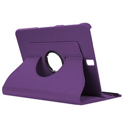 Slim Folio Stand PU Leather Case Cover Samsung Galaxy Tab S3 9.7 SM-T820 / SM-T825 - Purple