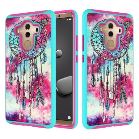 Patterned Hard TPU Hybrid Shockproof Protective Case Cover For Huawei Mate 10 Pro - Dream Catcher