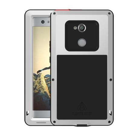 Aluminum Extreme Shockproof Weather Dust/Dirt Proof Resistant Case For Xperia XA2 Ultra - Silver