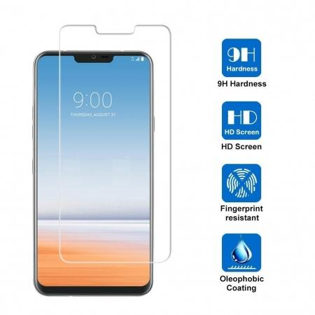 For LG G7 ThinQ Tempered Glass Screen Protector Front High Clear Film Bubble Free Protective Film