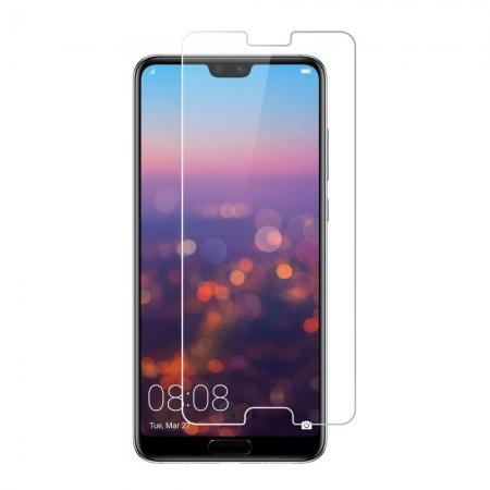 Tempered Glass Not Full Coverage HD Clear Glass Screen Protector for Huawei P20