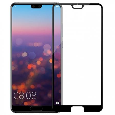 NLLKIN 3D CP+ MAX Full coverage Anti-explosion Tempered Glass Screen Protector for Huawei P20 Pro