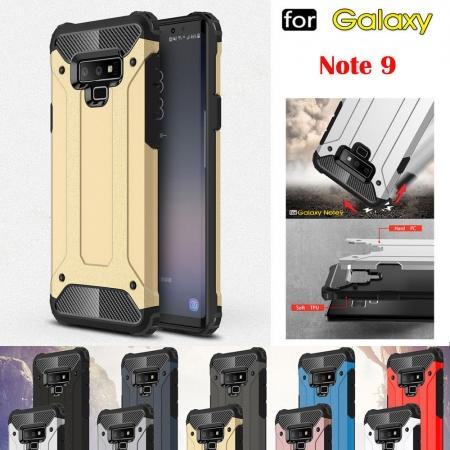 For Samsung Galaxy Note 9 Rugged Hybrid Armor Shockproof Protective Cover Case