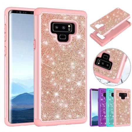 For Samsung Galaxy Note 9 Hybrid Rugged Armor Hard Rubber Case Shockproof Cover