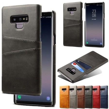 Case For Samsung Galaxy Note 9 Shockproof Leather Card Slot Back Cover