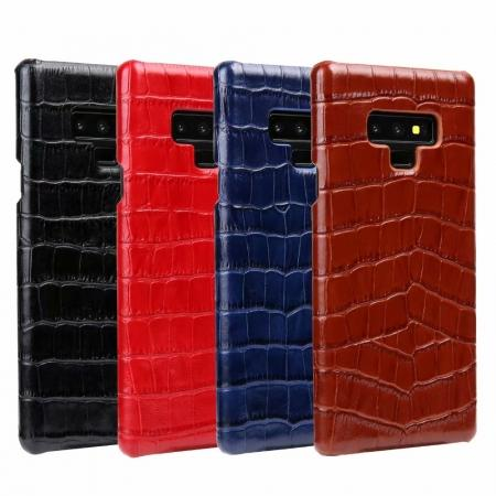 Crocodile Genuine Leather Back Case for Samsung Galaxy Note 9