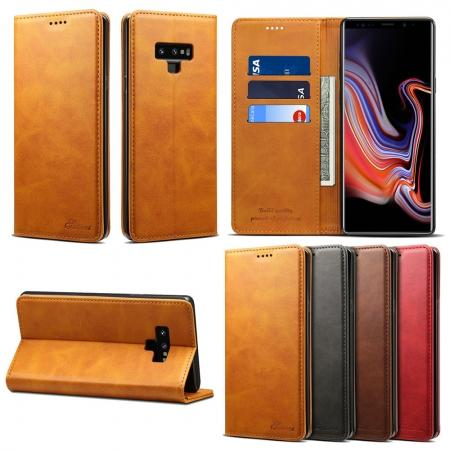 For Samsung Galaxy Note 9 Flip Wallet Leather Stand Protective Case Cover