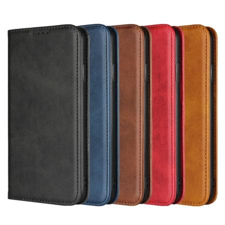 Premium Protective Filp Leather Card Holder Wallet Case for iPhone XS Max / XR / XS / X / 7 / 8
