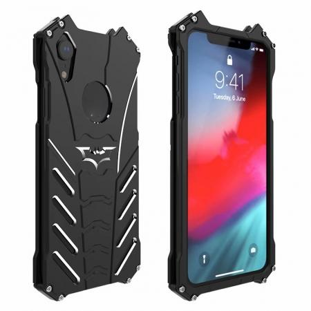 R-Just Shockproof Aluminum Metal Case for iPhone XR