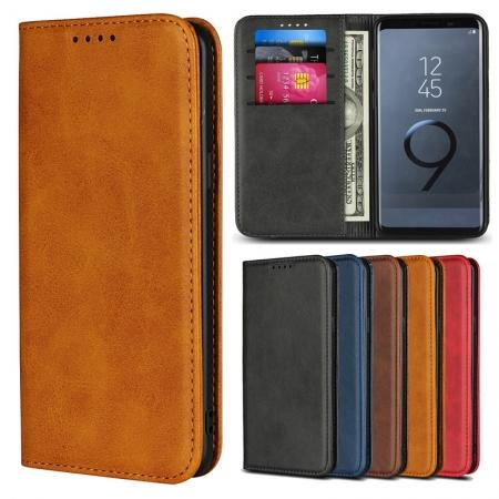 Wallet Leather Stand Phone Case Cover For Samsung Galaxy S8 / S9 / Note 9