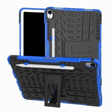 For iPad Pro 11-inch Dual Layer Hybrid Shockproof Kickstand Case - Blue