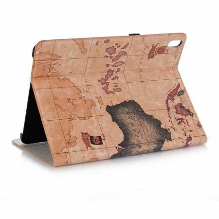 "Map Smart Leather Case for iPad Pro 12.9"" 2018 - Brown"