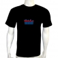 equalizer led shirts,HZ Flash LED DJ Music Activated Equalizer EL T-shirt