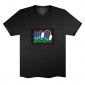dj t-shirt,Music DJ EL LED Black T-Shirt Funny Gadgets Rave Party Disco Light