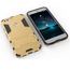 Slim Armor Kickstand Tough Dual Layer Protective Case For Google Pixel 5.0inch - Gold
