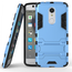 Slim Armor Kickstand Tough Protective Cover Case For ZTE AXON 7 Mini 5.2 inch - Blue