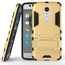 Slim Armor Kickstand Tough Protective Cover Case For ZTE AXON 7 Mini 5.2 inch - Gold