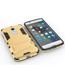 Slim Armor Kickstand Tough Protective Cover Case For ZTE AXON 7 Mini 5.2 inch - Gold