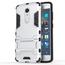 Slim Armor Kickstand Tough Protective Cover Case For ZTE AXON 7 Mini 5.2 inch - Silver