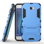 Tough Protective Hybrid Armor Slim Kickstand Cover Case for Samsung Galaxy On5 (2016) - Blue