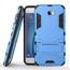 Tough Protective Hybrid Armor Slim Kickstand Cover Case for Samsung Galaxy On5 (2016) - Blue