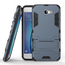 Tough Protective Hybrid Armor Slim Kickstand Cover Case for Samsung Galaxy On5 (2016) - Navy blue