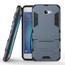 Tough Protective Hybrid Armor Slim Kickstand Cover Case for Samsung Galaxy On5 (2016) - Navy blue
