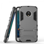 Hybrid ShockProof Protective Rugged Case with Kickstand for Motorola Moto G5 Plus - Gray