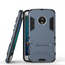 Hybrid ShockProof Protective Rugged Case with Kickstand for Motorola Moto G5 Plus - Navy blue