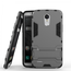 Hybrid Soft TPU&Hard Protective Case With Kickstand For LG Stylo 3 / Stylo 3 Plus - Gray